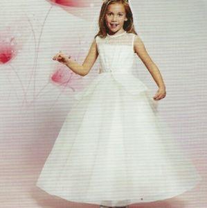 Mary's Bridal White Girls Dress